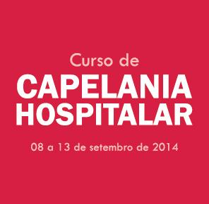 CURSO DE CAPELANIA HOSPITALAR